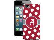 Coveroo 590-6517-BK-FBC iPhone 5 / 5s University of Alabama Dots Case