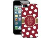 Coveroo 590-6627-BK-FBC iPhone 5 / 5s Florida State UniversityDots Case