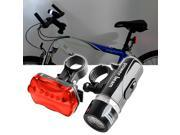 eForCity Bicycle Front Head Light and Rear Lamp , 5 LED