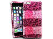 iPhone 6 Plus Cover Case - eForCity Clip on Colorful Design Cover Case for Apple iPhone 6 Plus (5.5-inches), Pink Exotic Skins