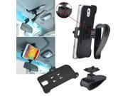 eForCity Phone Holder Sun Visor Clip Mount Stand Cradle For Samsung Galaxy Note 3 III N9000