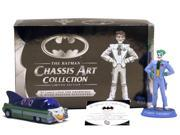 Batman Chassis Art Collection 1950 Jokermobile Figure