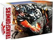 SDCC 2014 Exclusive Transformers Dinobots Set with Pop-Up Headquarters