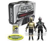 Battlestar Galatica Cylons with Tin Tote - SDCC Exclusive
