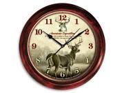 Deer Signature Clock