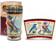 Eastern Bluebird Steel Mug