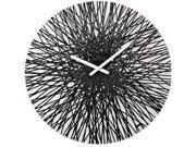 Koziol Silk Wall Clock in Black