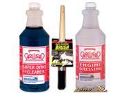 Show Car Engine Degreaser, Cleaner & Dressing Kit
