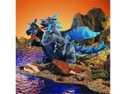 Blue Three Headed Dragon Puppet