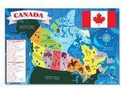 Canada Map Floor Puzzle 48 Pieces