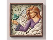 Magnetic Stepping Stone Plaque-Angel