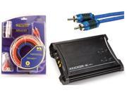 KICKER CAR SYSTEM ZX350.4, STINGER SHI2120 & AMP KIT