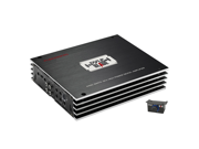 PYLE CAR AUDIO PLBA330FRD NEW 3 CHANNEL 4400W COMPACT CLASS-D HYBRID AMPLIFIER