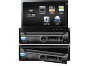 POWER ACOUSTIK PDR-780T DIGITAL RECEIVER 1-DIN W/ FLIP-UP LCD & ANALOG TV TUNER