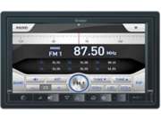 "FARENHEIT F 761NX DOUBLE DIN INGENIX SOURCE UNIT W/ 7"" LCD TOUCHSCREEN & DVD NEW"
