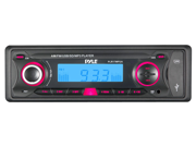 PYLE PLR17MPUA IN-DASH AM FM RADIO AUX IN RECEIVER W/ 4-CHANNEL RCA LINE OUT