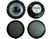 """JL AUDIO TR600-CXI CAR 6"""" 2-WAY HIGH QUALITY COAXIAL SPEAKERS NEW"""