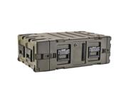 """SKB CASES 3RR-4U24-25B 4U 24"""" DEEP REMOVABLE SHOCK RACK & TRANSPORT CASE NEW"""