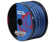 KICKER CAR AUDIO PWB050 0-GAUGE POWER WIRE CABLE HEAT-PROOF BLUE HYPER-FLEX NEW