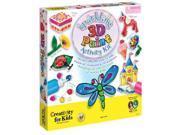 Creativity for Kids: Sparkling 3D Paint Activity Kit Arts & Crafts