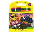 Coloring & ARTivity Books: Cars Trucks and More Arts & Crafts