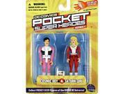 DC Comics Pocket Super Heroes: Cosmic Boy and Saturn Girl Action Figure 2-Pack