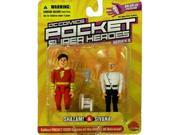 DC Comics Pocket Super Heroes: Shazam and Sivana Action Figure 2-Pack
