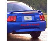 Ford Mustang 1999-2004 Rear Bumper Letters Insert Red