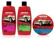 Mothers Polish Ultimate Wax System® (with paste wax)