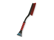 MALLORY Snow Brush, Fixed Head, Plastic, 26 In