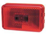 Clearance/Marker, 3-1/8 In, Led, Red