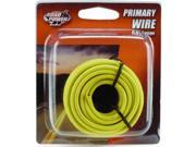 Woods Ind. 14-1-14 PVC-Coated Primary Wire-17' 14GA YEL AUTO WIRE