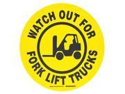 17 In B534Fs Bk/Yl Watchout For Forklift