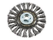 "4.5""twst Knot Wire Wheel 72835"
