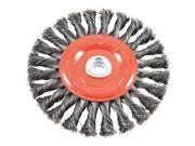 "6"" Twist Knot Wheel 72749"