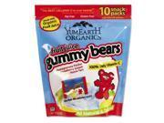 Organics Gummy Bears, 7 oz, Assorted Flavors SN1502T