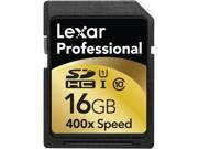 Lexar Media Professional 16 GB Secure Digital High Capacity (SDHC)