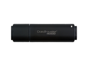 Kingston DataTraveler 4000 4GB USB 2.0 Flash Drive 256bit AES Encryption Model DT4000/4GB