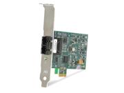 Allied Telesis AT-2711FX Fast Ethernet Fiber Network Interface Card - PCI Express - 1 x ST 100Base-FX - 100Mbps Fast Ethernet - Fiber