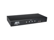 Tripp-Lite B002-DUA4 Network 4 Port DVI-USB Audio KVM Switch Desktop Black Retail