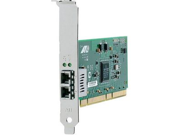 Allied Telesis AT-2931SX/SC 64-bit Gigabit Fiber Adapter Card - PCI  PCI-X - 1 x SC 1000Base-SX - 1Gbps Gigabit Ethernet - Fiber