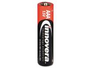 Innovera 11108 Alkaline Batteries  AAA  8 Pack