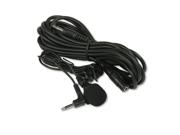 AMPLIVOX S2030 Handsfree Professional Cardioid Lapel Microphone, 40 Cord, 12FT E