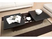 Monroe Leatherette Top Coffee Table