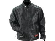 Diamond Plate Rock Design Genuine Buffalo Leather Motorcycle Jacket