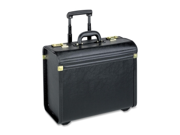 "Rolling Catalog Case, Oversized, 22""x14""x8"", Black LLR61613"