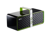 Hercules BT03 2.0 Speaker System - 12 W RMS - Wireless Speaker(s) - Black, Green