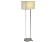 Trend Lighting Shift Floor Lamp In Brushed Nickel Finish