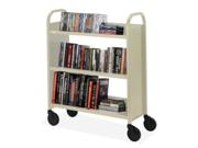 Bretford Basics Voyager Single-Sided Premium Book Truck 1 EA