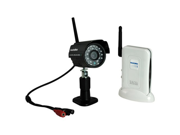 Securityman Digital Wireless Indoor/Outdoor Camera Kit With Audio and Night Vision DIGIOUTAIR